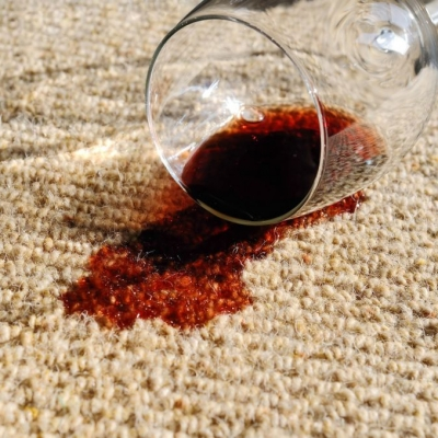 How to Clean Red Wine Out of a Carpet